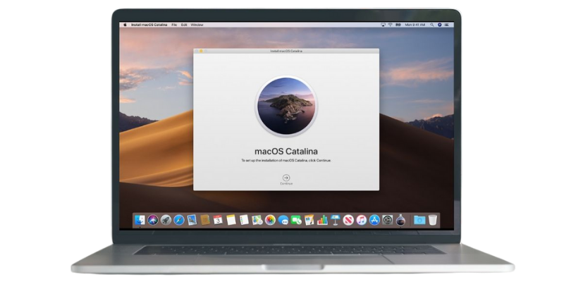 Macos installation with data migration